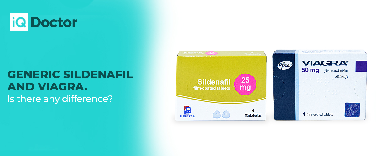 Is there any difference between Viagra and Sildenafil?