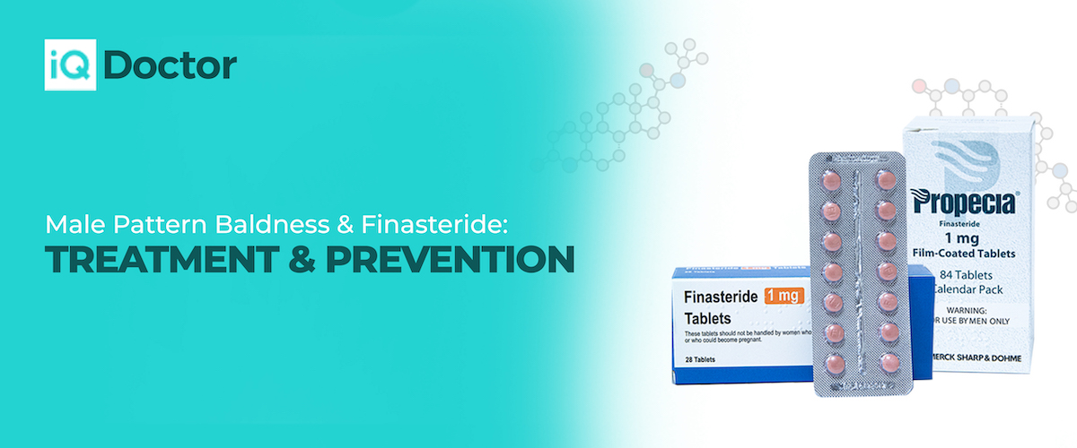 Male Pattern Baldness & Finasteride: Causes, Treatment, & Prevention