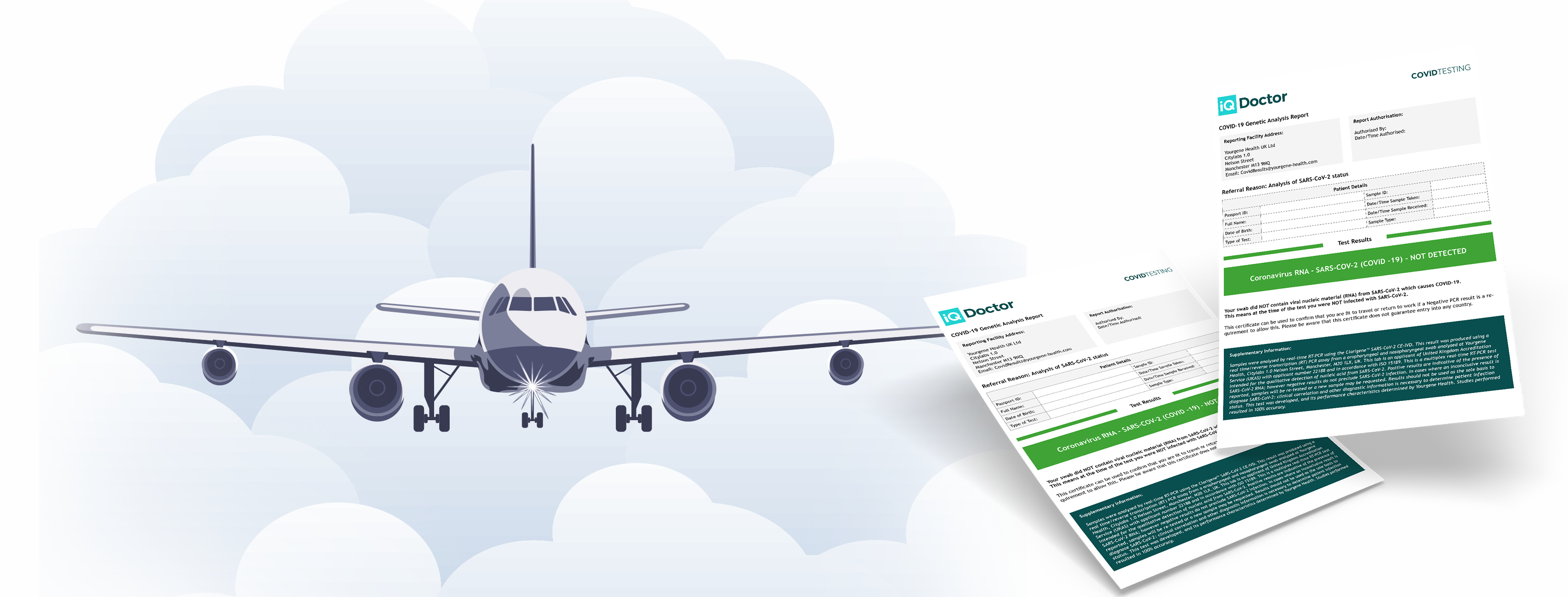 Reduce Post-Travel Isolation Period Using Test-to-Release Certificate