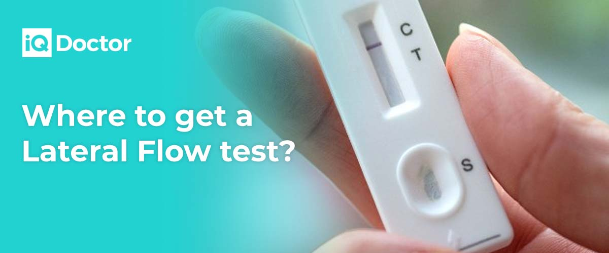 Where to get a lateral flow test in the UK?