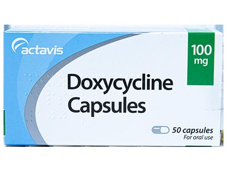 Doxycycline Capsules 100mg