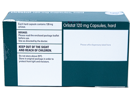 Orlistat (generic Xenical) 120mg